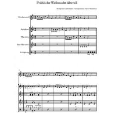 4 Weihnachtslieder für Quintett
